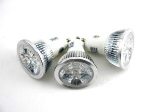 3 Pack GU10 LED bulbs Dimmable Warm White Lamp Light Spotlight 45 Degree Beam