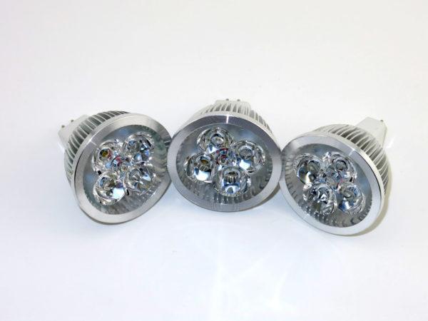 LED 4W MR16 DC12V Warm White Lamp Light Spotlight Bulb 60 Degree Beam