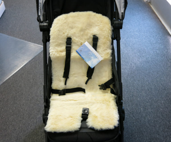 Bowron Lambskin Fleece Liner for Strollers & Car Seats