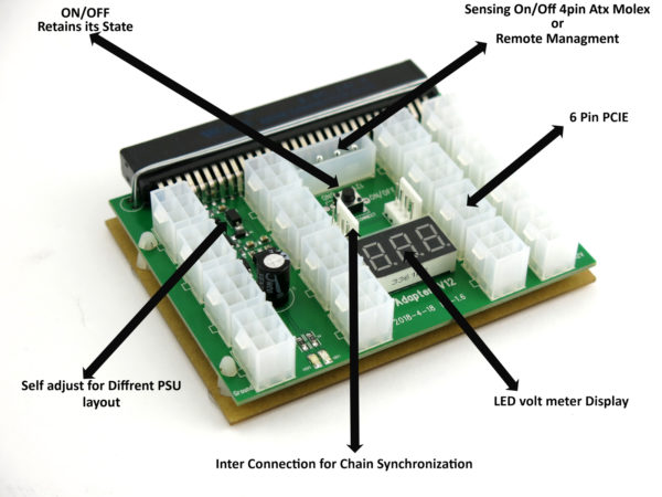 X12BRK chain sync adapter breakout board