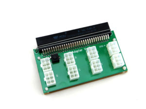 Server power supply breakout board adapter