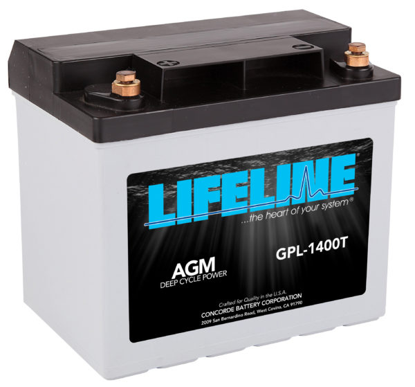 Lifeline GPL-1400T Marine Rv Battery