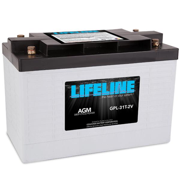 Lifeline GPL-31T-2V Marine RV Battery