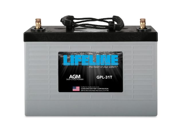 Lifeline GPL-31T RV Marine Battery