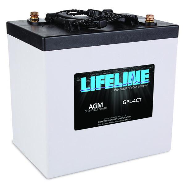 Lifeline GPL-4CT-2V Marine RV Battery