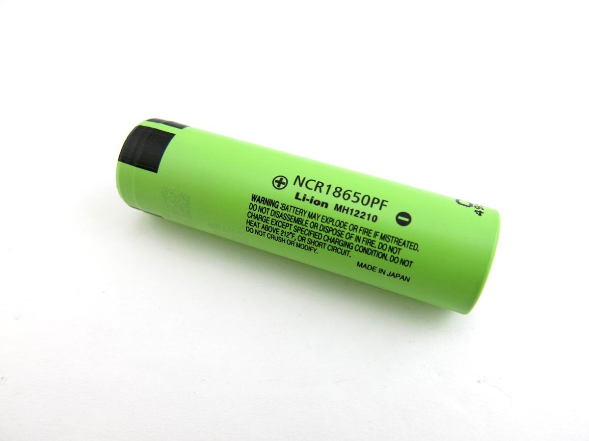 Lithium Ion Battery >> Panasonic Ncr18650pf Ga 10a High Drain Hybrid 2900mah 3 7v Imr Flat Top Li Ion Battery