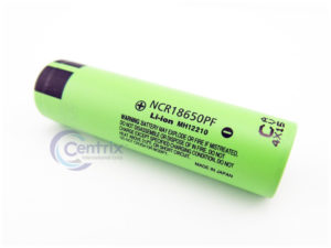 Panasonic NCR18650PF 2900mAh Flat Top Li-Ion Battery