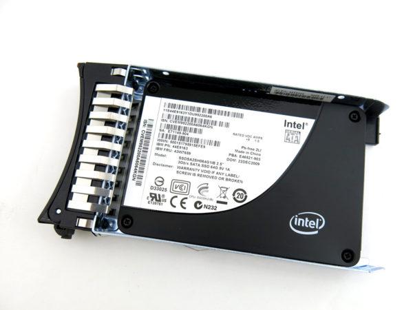 IBM 64GB Intel SSD 3GB/s for IBM System x 43W7659 SSDSA2SH064G1IB