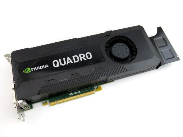 NVIDIA QUADRO K5000 4GB DDR5 Graphics Card GPU