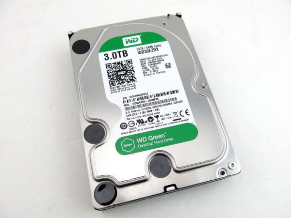 Western Digital Green WD30EZRX 3TB SATA 6 Gb/S Hard Drive Disk 3.5 Inch