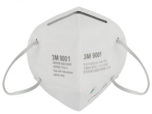 3M 9001 KN90 Respirator Face Mask